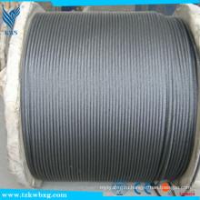 Зажим для проволочного троса AISI 316 Нержавеющая сталь 7x7 3,2 мм