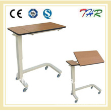 Hospital Overbed Table with Castors