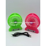3800 rotates strong wind power Portable Lithium Battery mini Fan