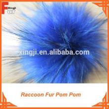 Raccoon Fur Pompom