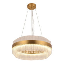 High End Ceiling Stainless Steel Hotel Living Room Dining Room Crystal Large Chandeliers
