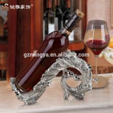 Cozinha de luxo de alta qualidade jantar decoração romântica vinho tinto resina resina artesanato