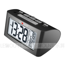 Nap LCD Desk Clock with Indoor Temperature Measurement (CL156)