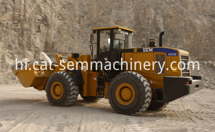 Sem660b Wheel Loader 3