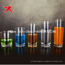 Cylinder Round Transparent Glass Mug Glass Water Cup