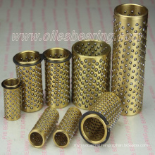 ball guide bush hasco standard,ball cage fibro 206.71.032.140,brass ball bearing retainers bushing set
