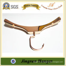 Beleza Gold Plating Plastic Clothes Gown Hanger