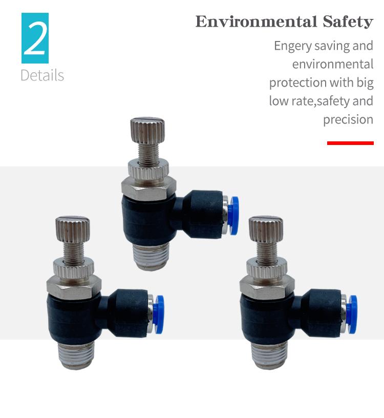 SL pneumatic connector safty