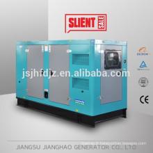 générateur de 100kW 125kva diesel insonorisé, groupe électrogène diesel de faible bruit