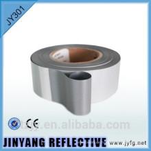 Stock Band Bodenmarkierung PET Spiegelfolie Silberklasse 2
