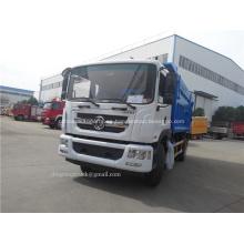 Dongfeng cargador trasero de camión de basura