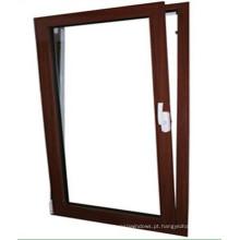 Alta qualidade de inclinação de alumínio gire janelas