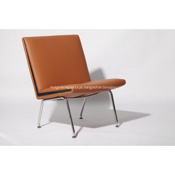 Cadeira de avião CH401 em pele genuína
