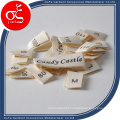 Brand Printed Label Cotton Main Labels/Size Labels