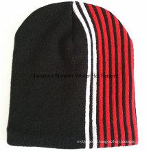 Alta Qualidade Promoção Beanie Hat Custom Logo Design Beanie
