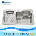 8/18 brush nickel stainless steel punch outdoor basin sink American standard