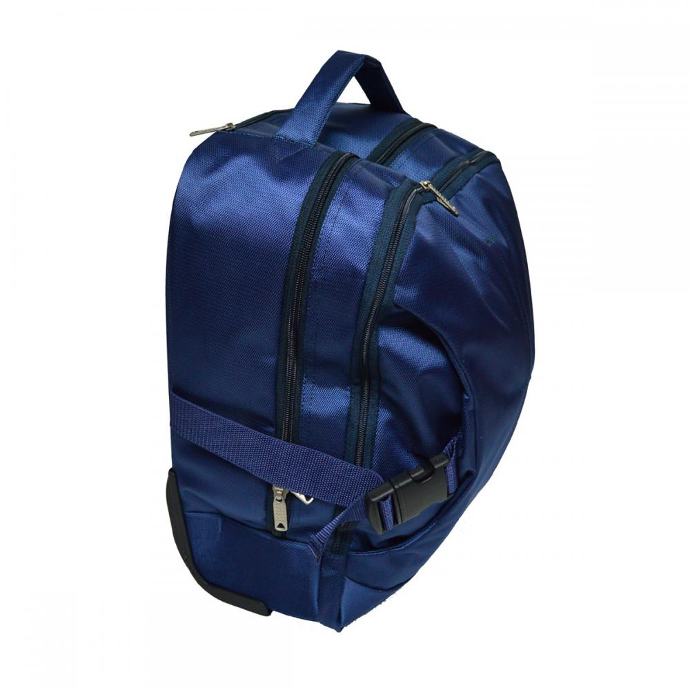840D Jacquard Fabric Single Trolley Bag