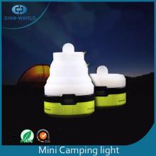 Przenośny silikonowy latarniowy lampion kempingowy