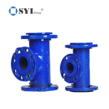 Cement Loosing Flanged 45 Degree Bend Coating Ductile Iron Pipe Fitting
