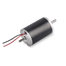 Totally Enclosed Cheap double shaft gear Fan DC Micro Motor