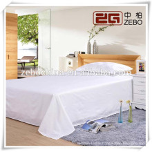 100% Cotton 40s *40s Pure White Plain Fabric Wholesale Hospital Bed Sheet