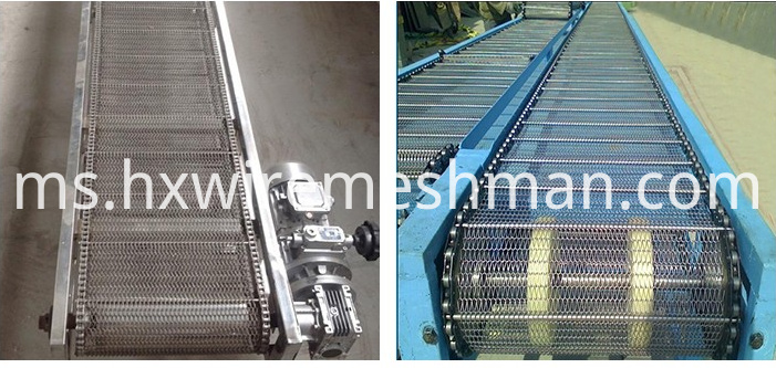 uses of wire mesh belt