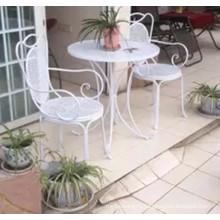 Уличная мебель Складные металлические столы и стулья