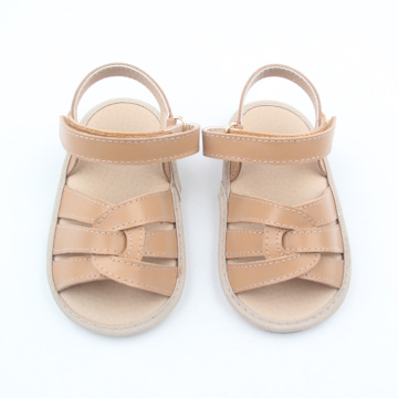 2018 Hot Sale Summer Sandalias para niños marrón
