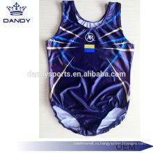 Дешевый сублимированный темно-синий мужской купальник