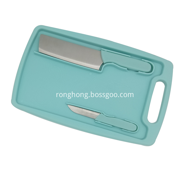 Cutlery Set With Cutting Board