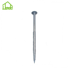 Hot Dip Zinc Solar Ground Screw dengan Flange
