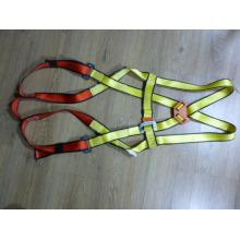 Arnés de cuerpo completo de color amarillo / rojo con CE