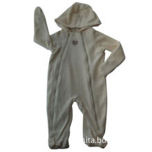 Long-sleeved Baby's Rompers with Hood, Available in Various Sizes