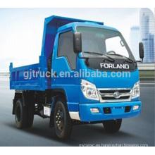 4x2 Foton Forland carga del camión volquete
