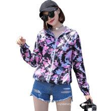 Women′ S New Skin Clothing Thin Upf50 UV Fashion Sunscreen Clothing