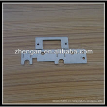 Parte de estampado de zinc de OEM, piezas de estampación de metal