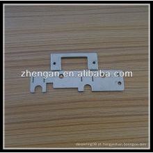 Parte de estampagem de zinco OEM, peças estampadas em metal