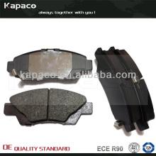 Plaque de frein à disque avec fibre Kevlar et cale WOLVERINE pour Honda City 2008-2013