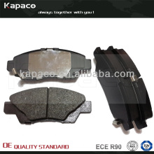 Disc Brake pad with Kevlar Fiber and WOLVERINE shim for Honda City 2008-2013