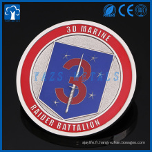 Les forces du corps de marine commandent des opérations spéciales commandant des pièces de monnaie militaires américaines