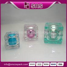 Chine fabricant 5g 10g emballage de bouteilles de soins de la peau pour produits cosmétiques, pots en plastique bon marché