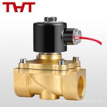 Válvula solenoide de agua de latón de 2 pulgadas 24v
