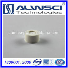 2014 24-400 Branco Aberta Top Screw PP Cap com PTFE Silicone septa