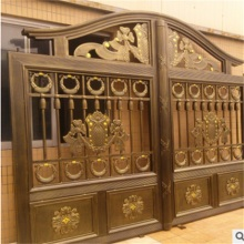 Aluminum Villa Entry Gate