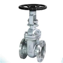 Flange end stainless steel gate valve