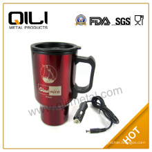 stainless steel electric charger thermal mug 450ml