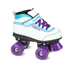 Soft Boot Quad Roller Skate for Kids (QS-38)