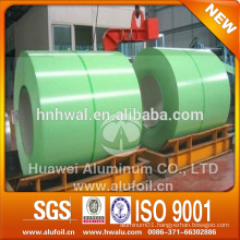PE PVDF color coated aluminum coil for roofing decoration