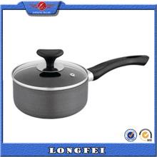 Presse en pot de sauce en coton en aluminium avec poignée de bakélite