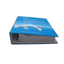 Impression de livre de feuilles mobiles de haute qualité de couverture de fantaisie